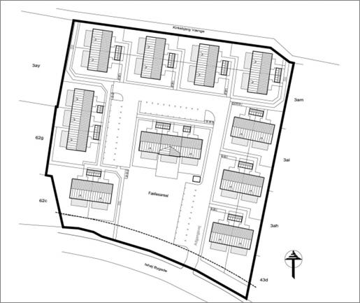 Kirkebjerggaard bebyggelse