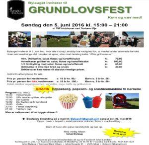 Grundlovsfest 2016